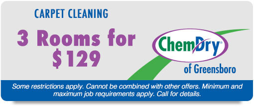 carpet cleaning clemmons NC 3 rooms for $129