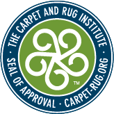the carpet and rug institute seal of approval logo