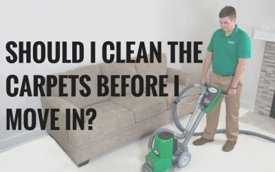 Should I Clean the Carpets Before I Move in?