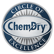 circle of excellence badge Carpet cleaning greensboro NC