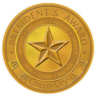 presidents award chemdry carpet cleaning in Greensboro NC