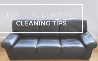 Leather Furniture Cleaning Tips