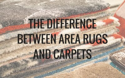 The Difference Between Area Rugs and Carpets
