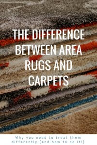The Difference Between Area Rugs And