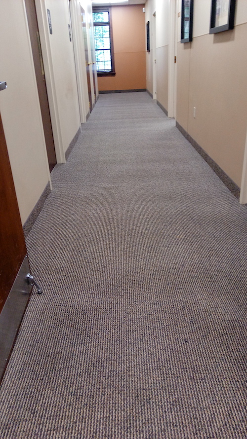 doctors office commercial carpet cleaning in Greensboro