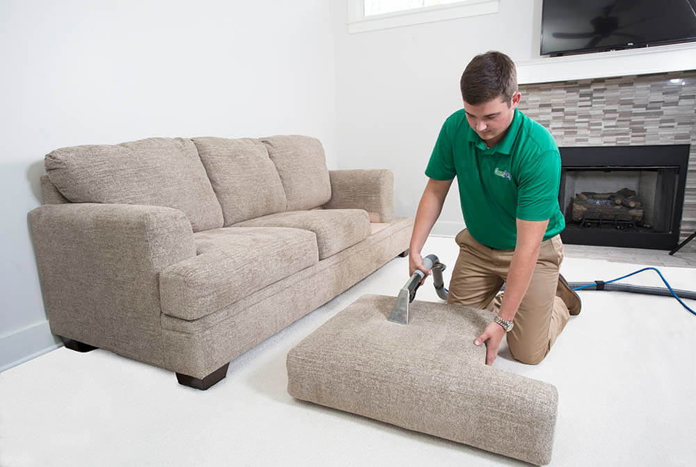 Certified And Trained Upholstery Cleaning Technicians