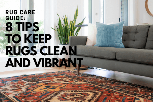 Rug Care Guide 8 Tips To Keep Rugs